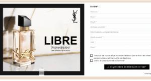 Echantillons gratuits de parfum Libre d'Yves Saint Laurent à recevoir sur sephora.fr